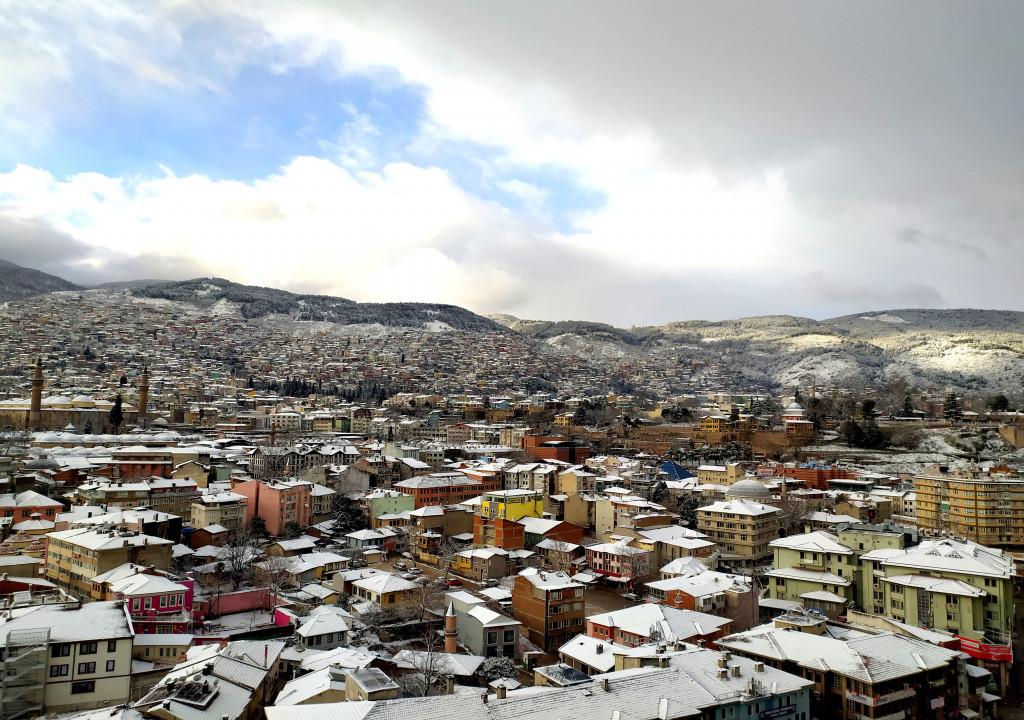 Bursa'da kartpostallık manzaralar!
