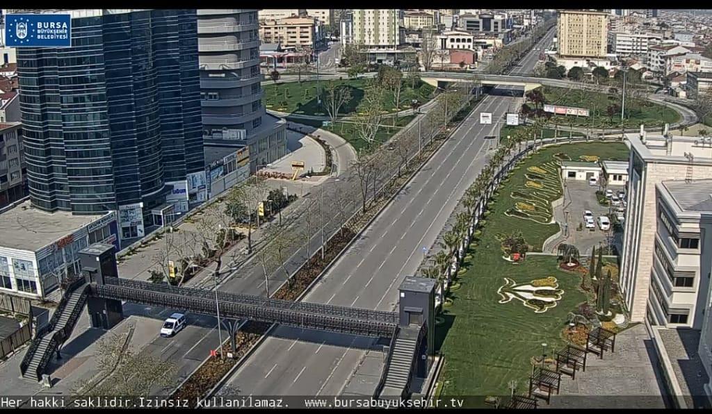 İşte sokağa çıkma yasağı sonrası Bursa!