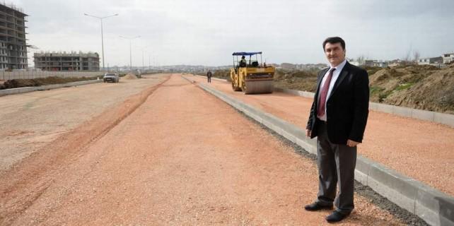 Yunuseli'nde 40 metrelik bulvar açılış için gün sayıyor