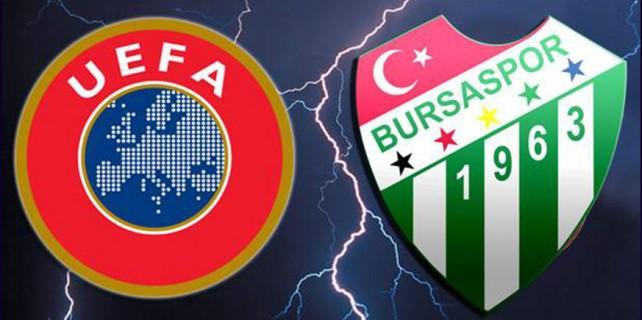 UEFA'dan Bursaspor ile ilgili flaş karar