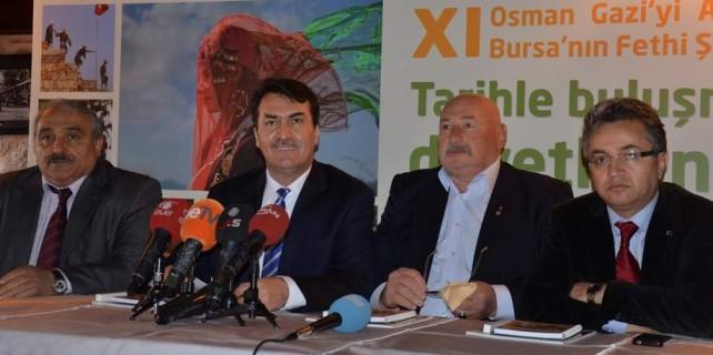 Bursa'da tarihe yolculuk başlıyor