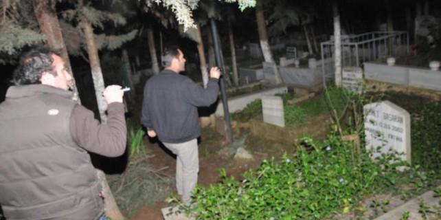 Mezarlıktan esrarengiz ihbar