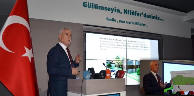 Nilüfer Türkiye'ye örnek projeleriyle büyüyor