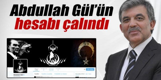 Abdullah Gül'ün hesabı çalındı