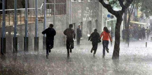 Bursa'ya sağanak yağış geliyor
