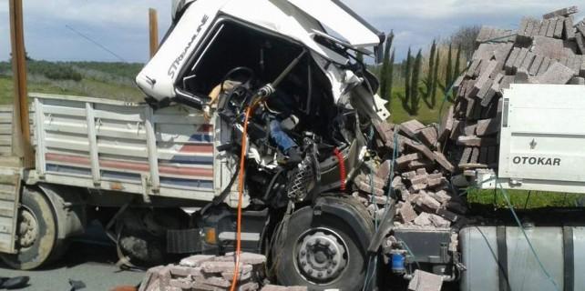 Bursa Çevre Yolu'nda korkunç TIR kazası
