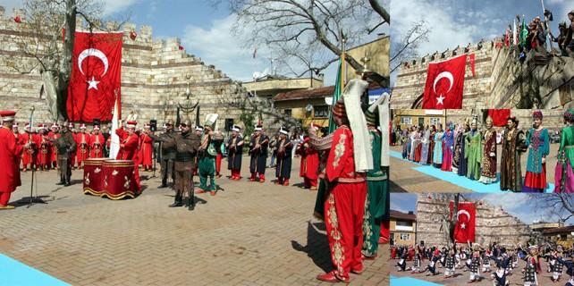 Bursa'da tarih yeniden canlandı