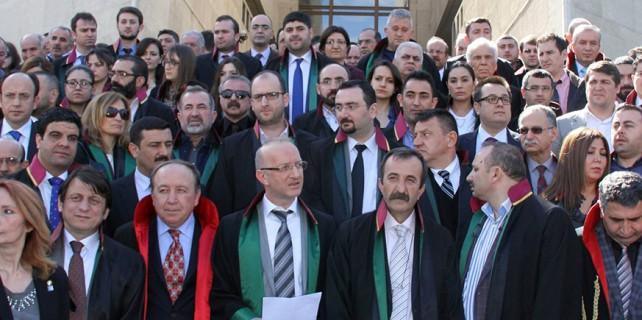 Bursa'dan başlayacak avukatların yürüyüşü iptal