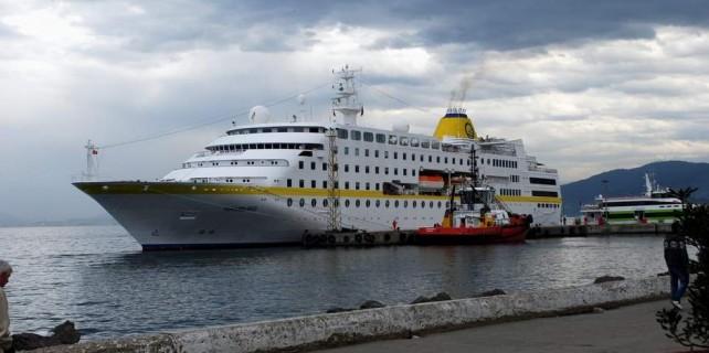 Yılın ilk turist gemisi Bursa'da...
