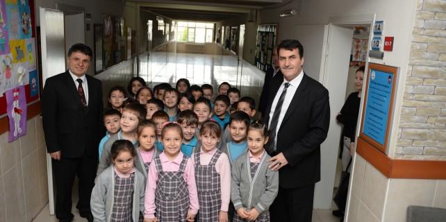 Okullara Osmangazi desteği