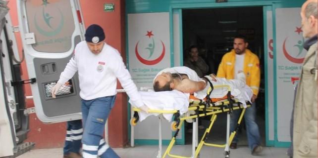 Bu olay Bursa'da yaşandı...Kolunu bacağını testereye kaptırdı