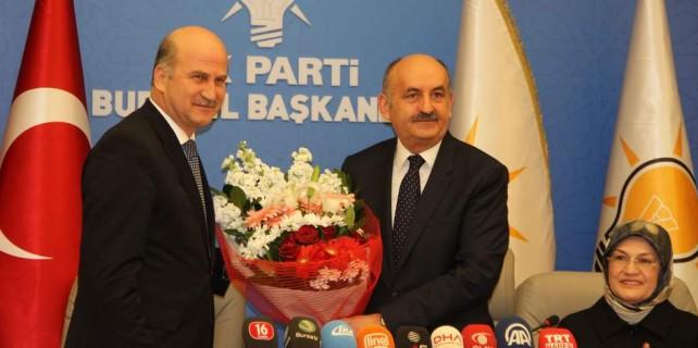 Bakan Müezzinoğlu seçim startını Bursa'da verdi