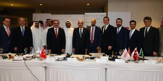BTSO Arap işadamlarını ağırladı