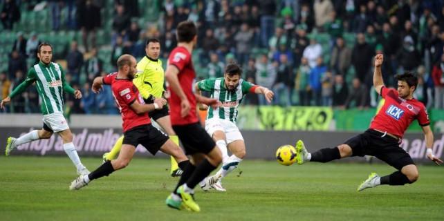 Bursaspor kupa aşkına