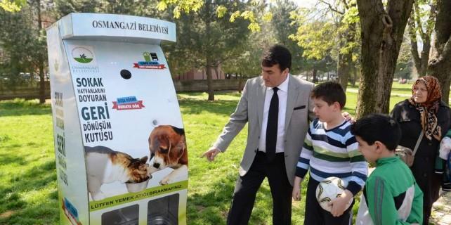 Osmangazi'den hayvan ve çevre dostu proje