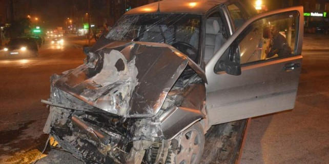 Bursa'da dehşetin yaşandığı kaza kameraya böyle yansıdı