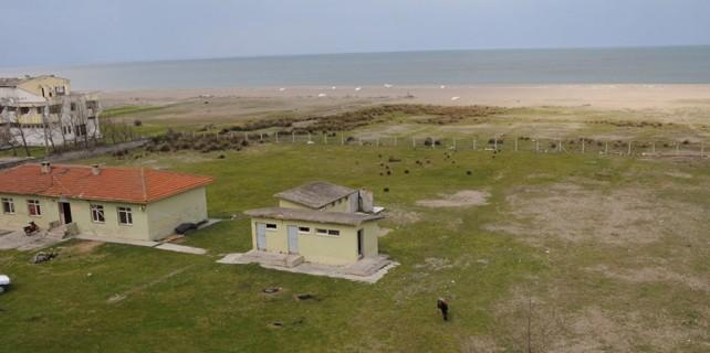 Denize sıfır köy okulu turizmin gözdesi olacak