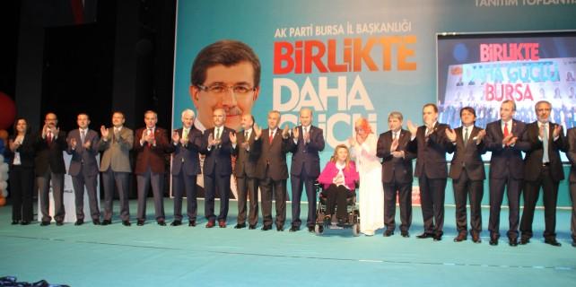 AK Parti'nin hedefi Bursa'da 2 milyon oy