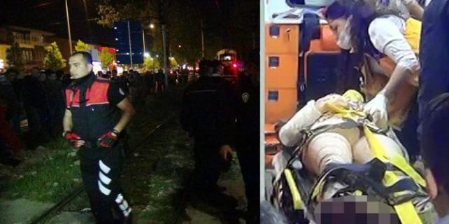 Korkunç kaza! Genç kızın ayağı koptu