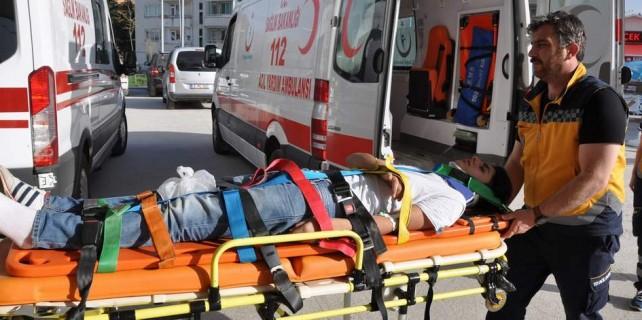 Burası Bursa...Motosiklet turu hastanede bitti
