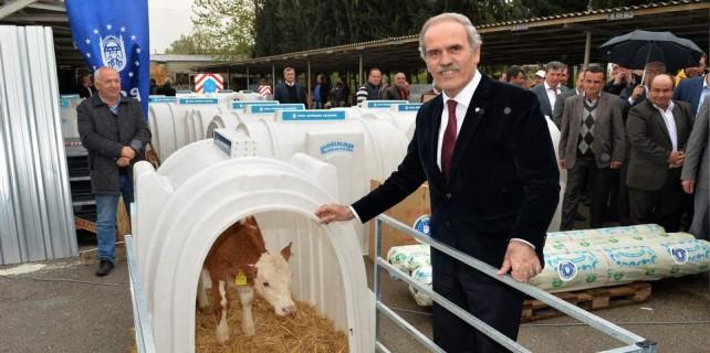 Bursa'da çiftçiye destek