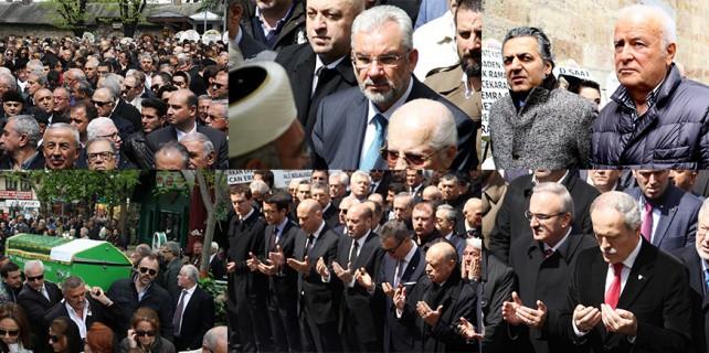 Spor, siyaset ve iş dünyası Kızıl'ın cenazesinde buluştu