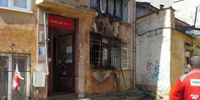 Bursa'da doğalgaz patlamasında faciadan dönüldü