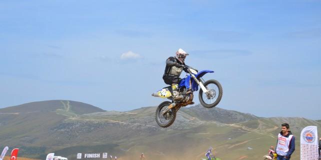 Bursa'da motokros heyecanı