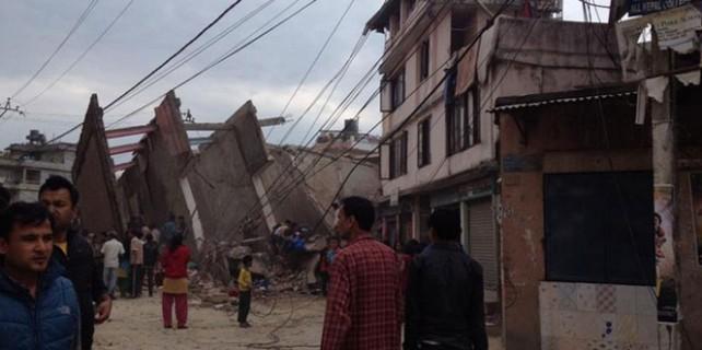 Nepal'de deprem felaketi