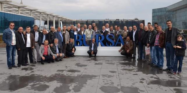Taburun askerleri 27 yıl sonra Bursa'da buluştu