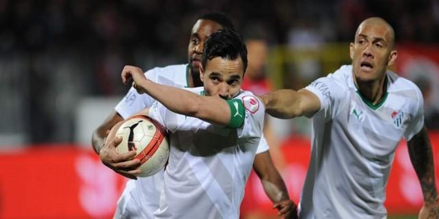 Kupa maçında favori Bursa