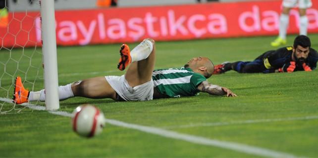 Bursaspor kupada keyif vermedi: 1-2