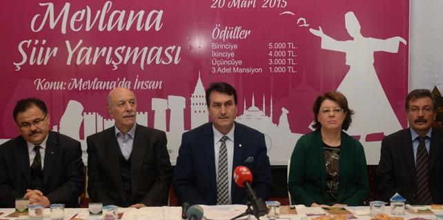 Mevlana'da birincilik ödülü Erzurum'a gitti