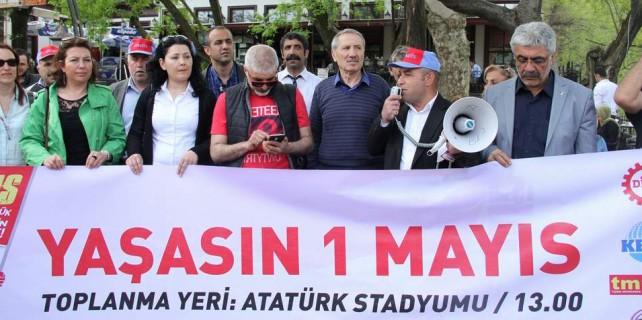 İşte Bursa'da 1 Mayıs programı