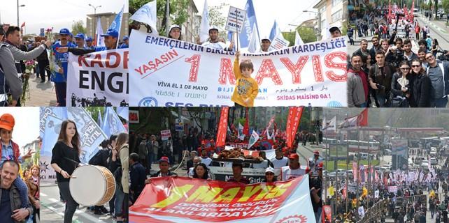 Bursa'da polis biber gazı değil karanfil attı