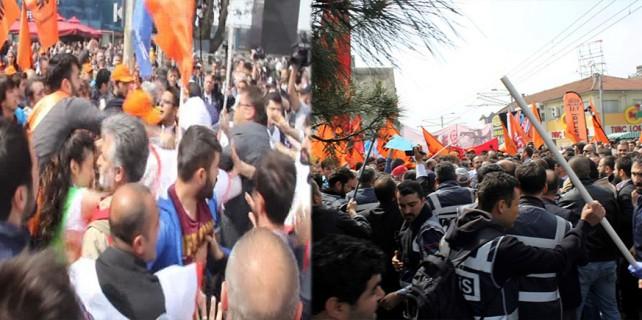 Bursa'da 1 Mayıs gerginliği