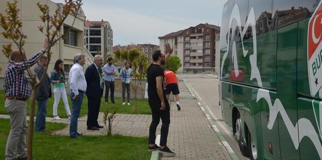 Bursaspor'da Serdar Aziz şoku