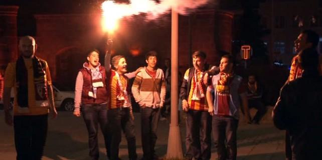 Süper Lig coşkusu şehri sokağa döktü