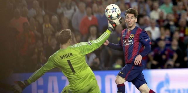 Barcelona, Bayern'i ezdi