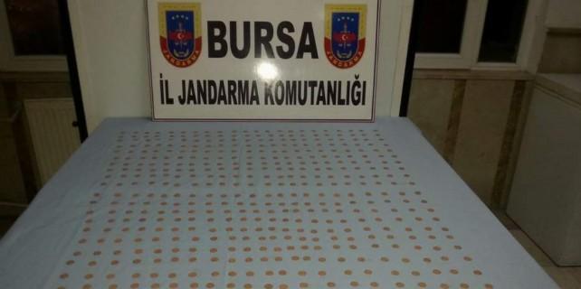 Bursa'da şok tarihi eser operasyonu...Venedik dukasıyla yakalandılar