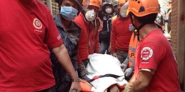 Bursa ekibi 7 kişiyi kurtardı
