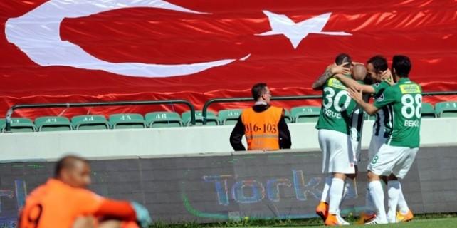 Bursa'da Timsah şov: 7-1