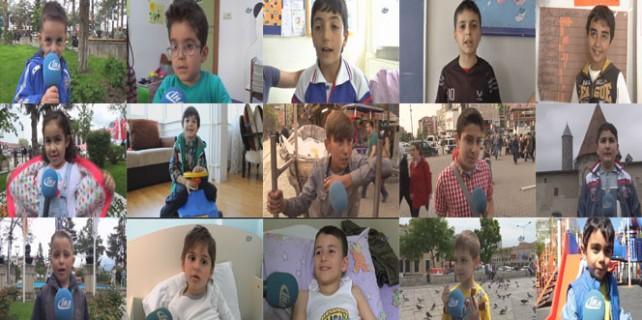 Türkiye'nin çocukları 'annelerini' anlattı