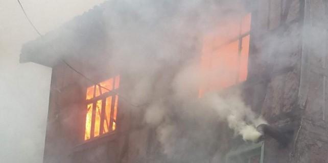 Bursa'da yürekleri yakan yangın