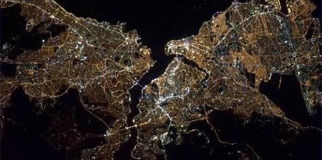 Amerikalı astronot uzaydan İstanbul fotoğrafı paylaştı