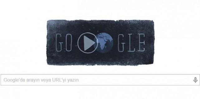 Google'dan deprem doodlesi