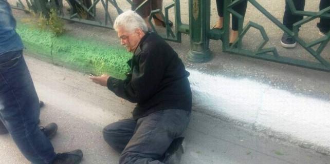 Vicdansızlar...Yaşlı adama çarpıp kaçtılar