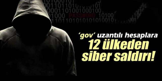 Türkiye'ye topyekün siber saldırı