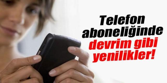 Telefon aboneliğinde devrim