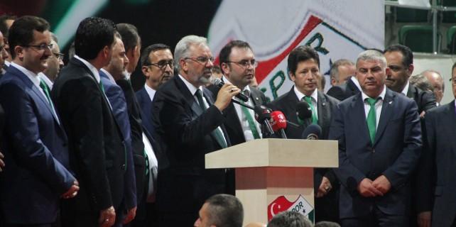 Bursaspor'da Bölükbaşı güven tazeledi